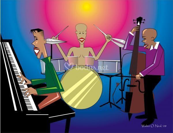 Jazz trío instrumental