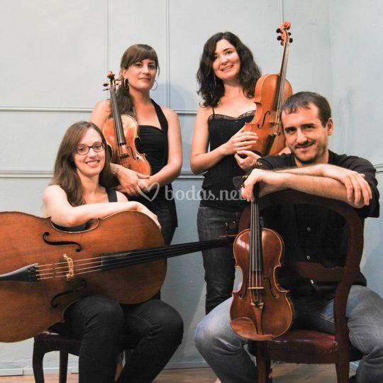 Cuarteto Mots de fusta 2014