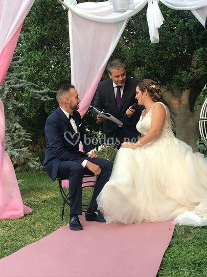 Oficiante de boda