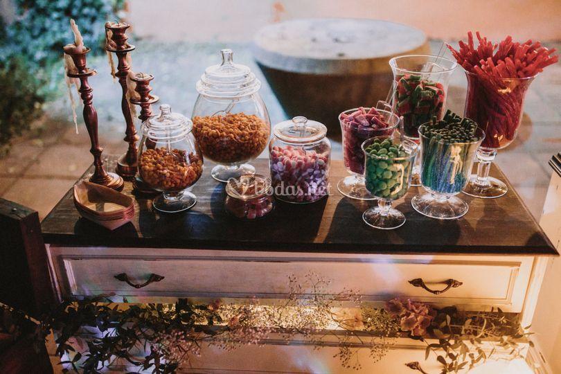 Candybar para boda