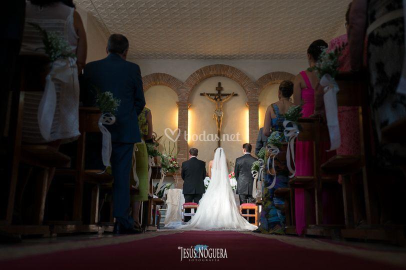 La ceremonia en Jaén