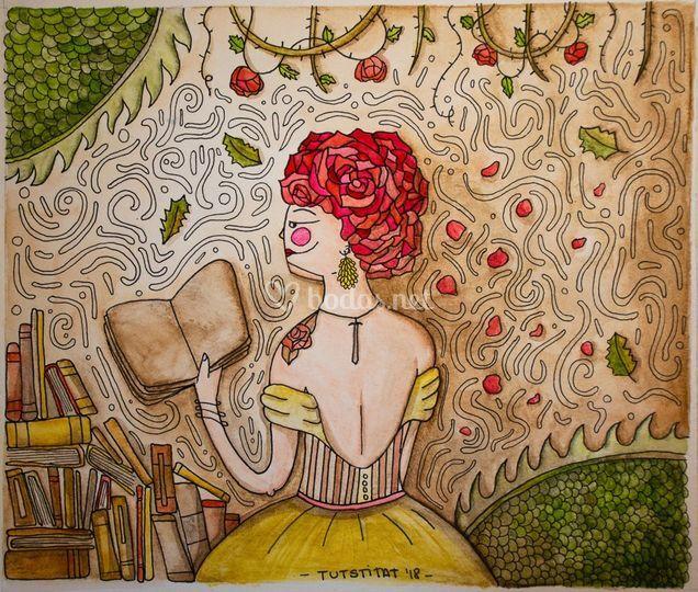 Ilustración rosas