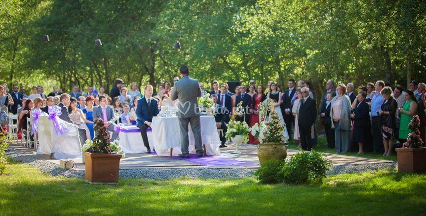 Zona celebración boda civil