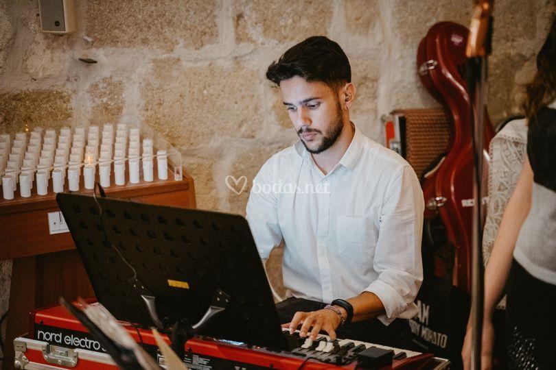 Piano en iglesia