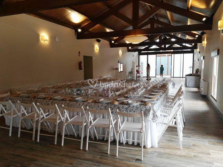 Salón principal para banquete