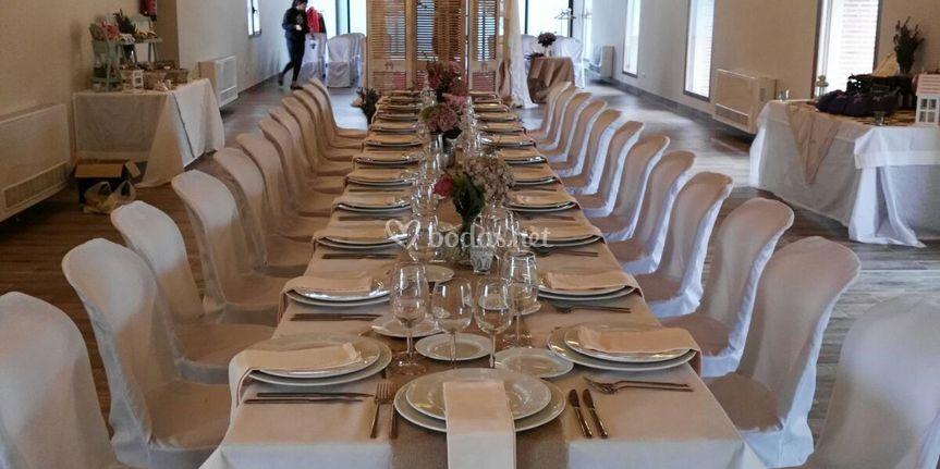 Salón principal.Banquete