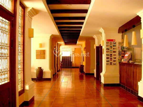 Hall Rosaleda de Don Pedro