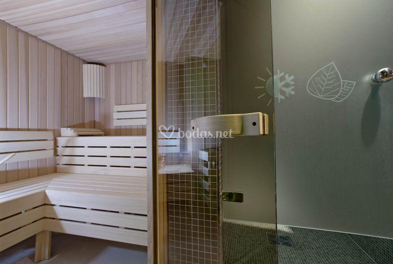 Sauna y Ducha Sensaciones