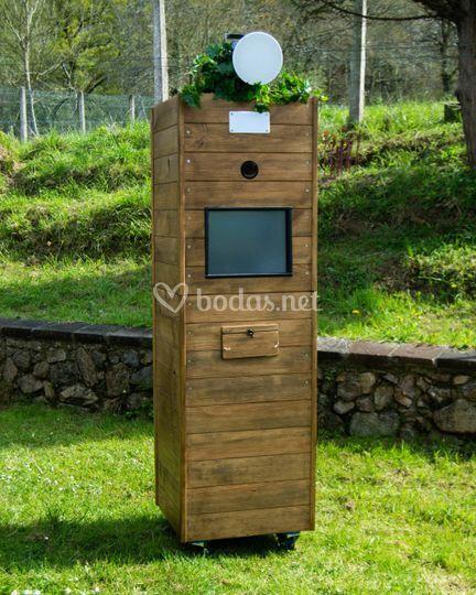 Nuevo fotomatón de madera