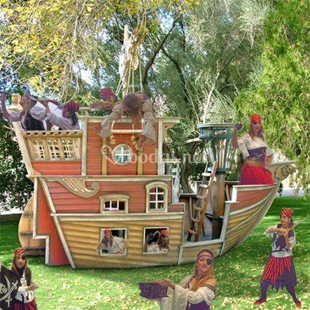 Las piratas en busca del tesoro