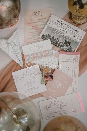 Papelería de bodas