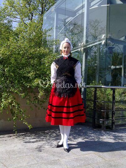 Trajes de Asturiana