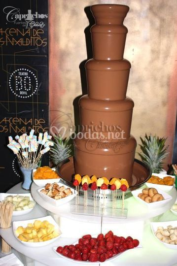 Fuente de Chocolate Madrid