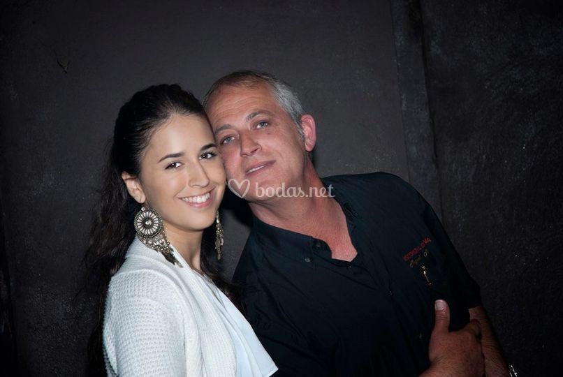 Andrea y Miguel