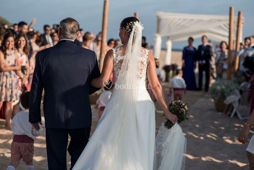 Ceremonia playa