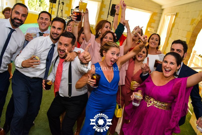 Paparazzi en tu boda