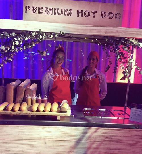 Carrito hot dog para eventos