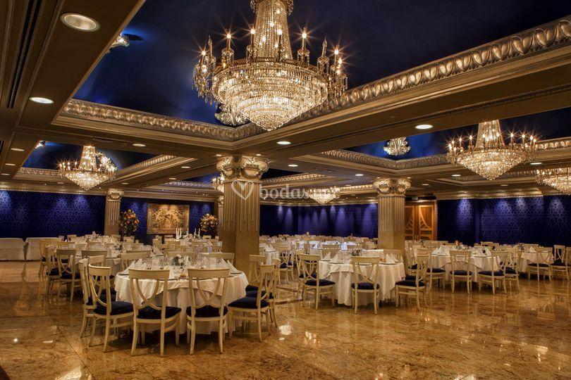 Sal n azul de mediterr neo restaurante y salones foto 24 - Salones mediterraneo albal ...