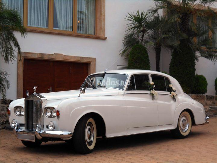 Rolls Royce Silver Cloud Blanc