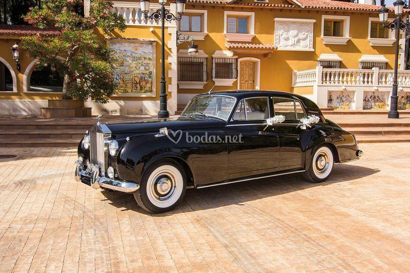 Rolls Royce Silver Cloud Negro
