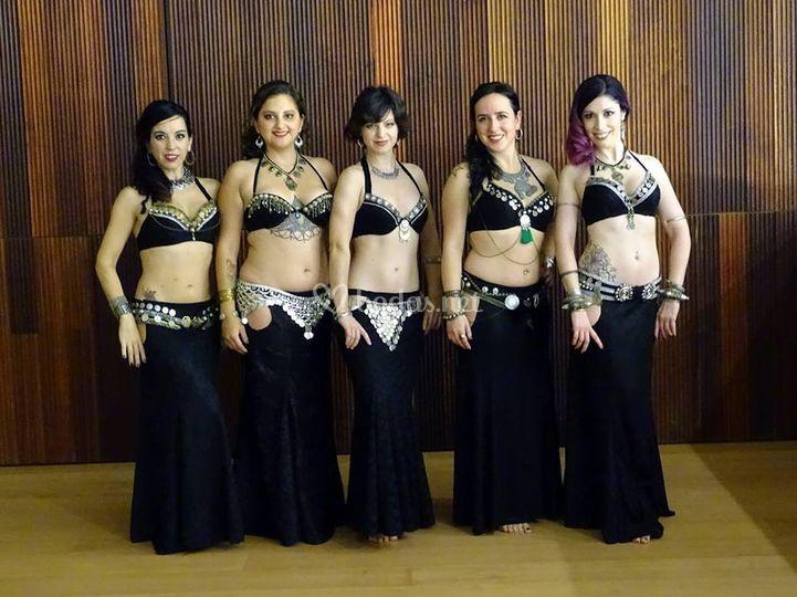 Actuación tribal fusión