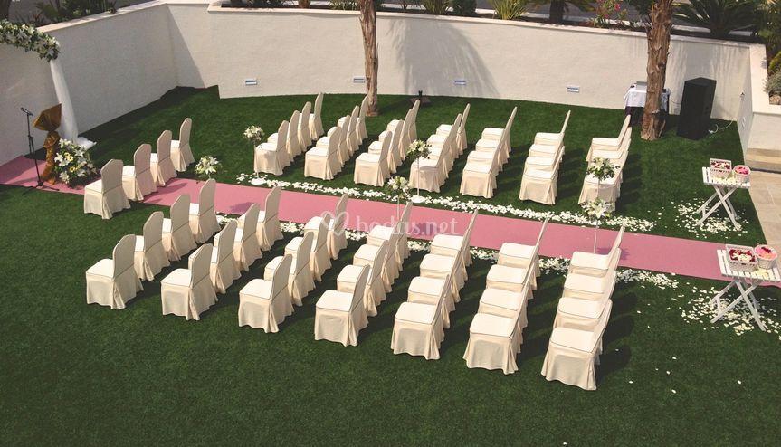 Jardín ceremonia civil