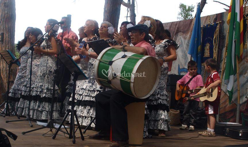 Actuación en Romería C.C.A. de Palamós