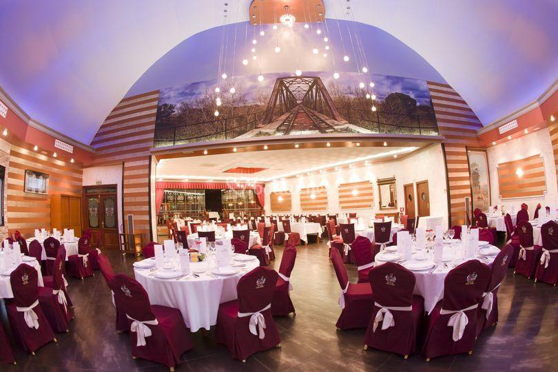 Salón cúpula