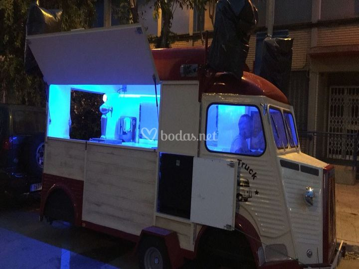 Disco food truck