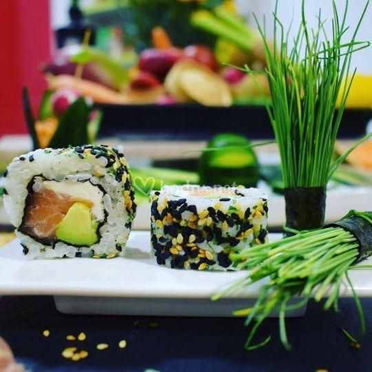 Sushi sano y natural 100%