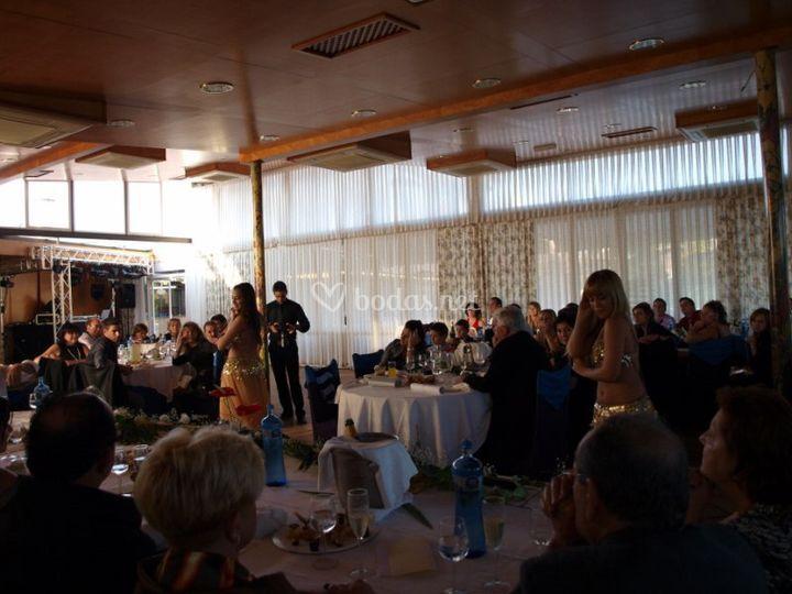 Espectáculos de Danza del Vientre para bodas