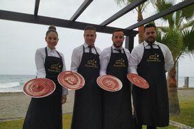 Antonio Alcauza - Cortadores de jamón