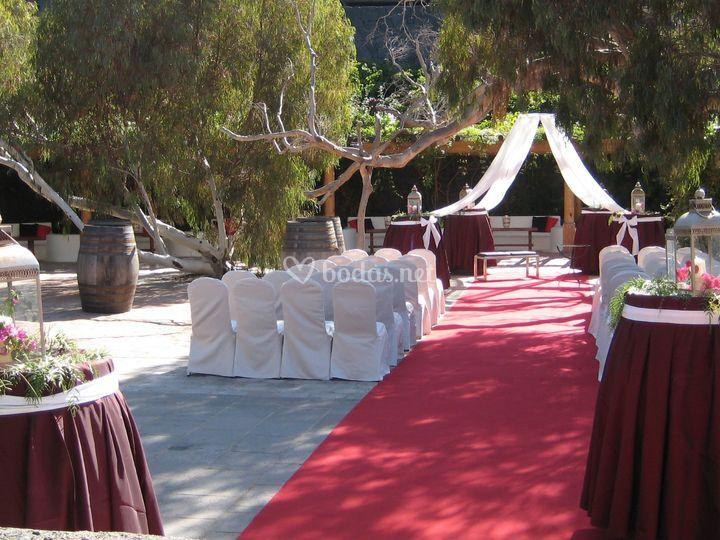 Propuestas para la ceremonia