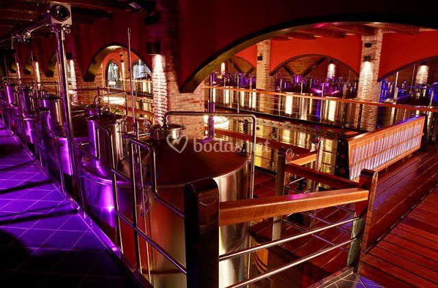 Depósitos isotérmicos de fermentación