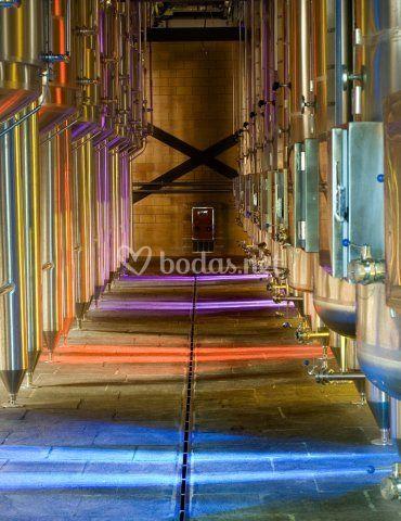 Depósitos isotérmicos de fermentación para vinos tintos y blancos