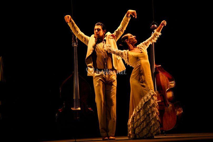 Dúo de flamenco lírico