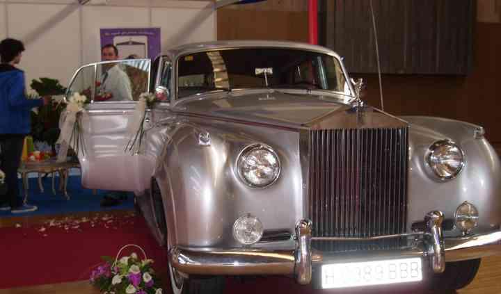 Un coche elegante