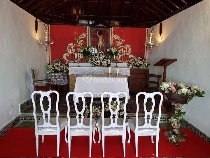 Ceremonia rustic - chic