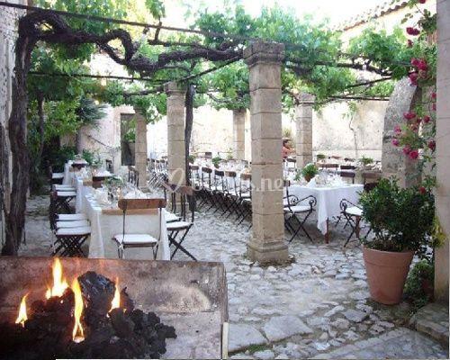Catering en terraza