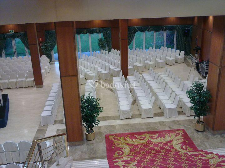 Ceremonia civil en sal n de gaztelubide las rozas foto 24 - Spa las rozas ...