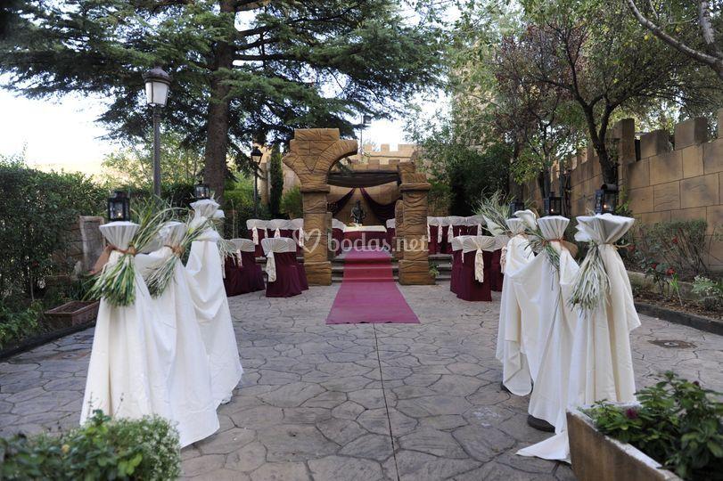 Ceremonia templete