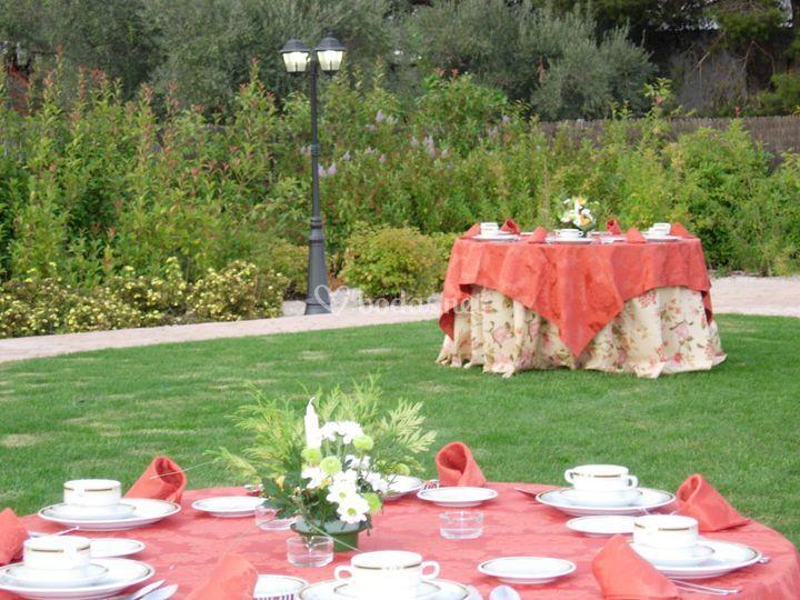 Jardín con encanto