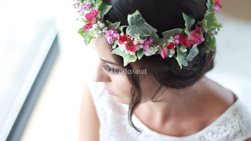 Corona de la novia