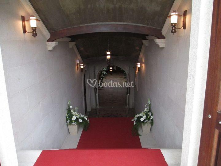 Zona para la ceremonia