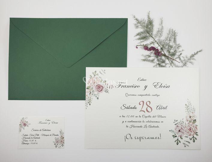 Invitación Mod. Eloísa