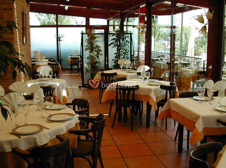 Terraza Restaurante La Chopera