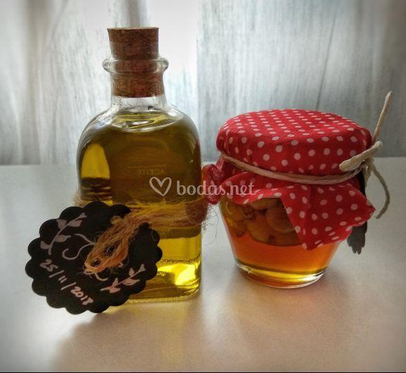 Pack aceite y miel
