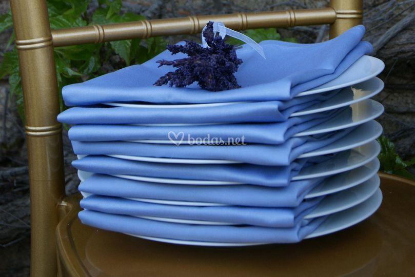 Detalle de servilletas