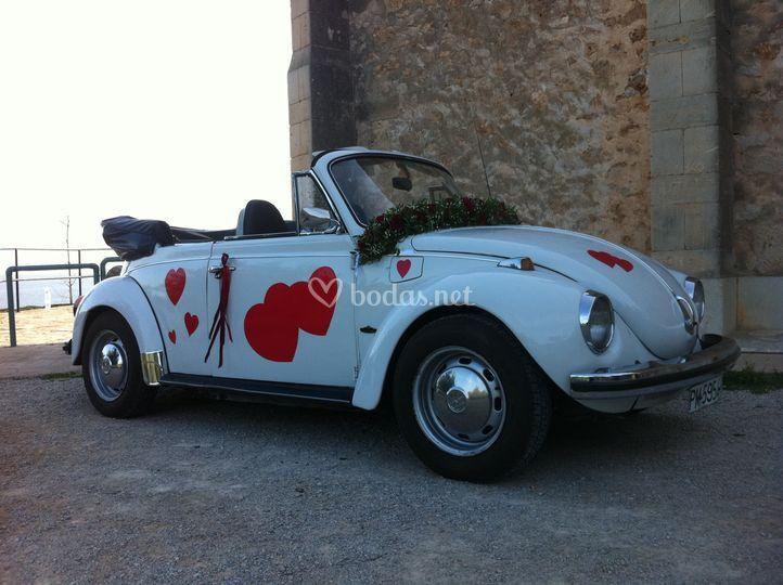 Herbie con corazones