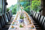 Decoración de mesas para el restaurante